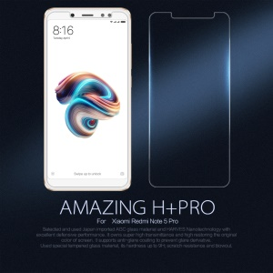 NILLKIN Amazing H+PRO Tempered Glass Screen Protector Film Anti-Explosion for Xiaomi Redmi Note 5 Pro (Dual Camera) / Redmi Note 5 (China) / Mi 6x