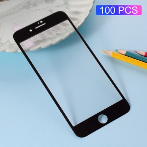 100PCS/Lot RURIHAI 3D Curved Carbon Fiber Tempered Glass Screen Guard Film for iPhone 8/7 - Black