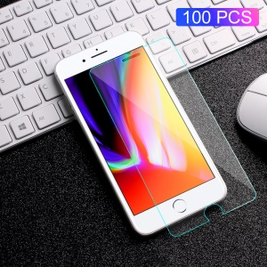 100Pcs/Set RURIHAI 0.18mm 2.5D Tempered Glass Screen Protector for iPhone 8 Plus / 7 Plus