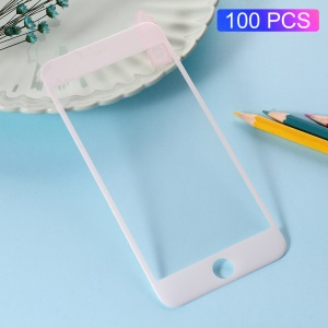 100Pcs/Lot RURIHAI 3D Soft PET Silk Print Screen Protector for iPhone 8/7 4.7 inch - White