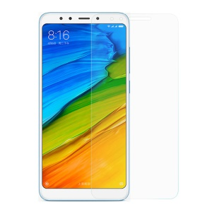 0.3mm Temperado Filme Protetor De Tela De Vidro Para Xiaomi Redmi Note 5 (12MP Câmera Traseira) / Redmi 5 Plus (china) Borda Do Arco