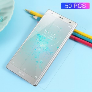 50PCS Full Coverage Anti-explosion Soft Screen Protector Films for Sony Xperia XZ2