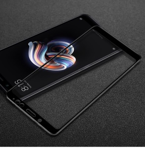 IMAK Full Coverage Anti-explosion Tempered Glass Screen Protector for Xiaomi Redmi Note 5 Pro (Dual Camera) / Redmi Note 5 (China) - Black