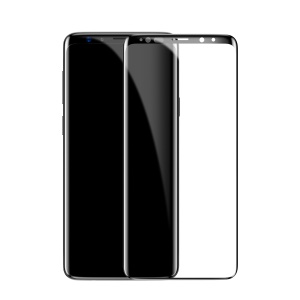BASEUS 0.3mm Full Coverage Tempered Glass Screen Protector for Samsung Galaxy S9 G960 - Black