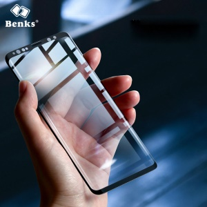 BENKS XPRO+ for Samsung Galaxy S9 SM-G960 Full Coverage 3D Curved Tempered Glass Screen Protector
