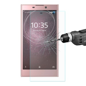 ENKAY 0.26mm 9H 2.5D Arc Edge Tempered Glass Screen Protector Film for Sony Xperia L2