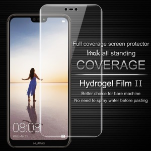 IMAK Soft Clearer Hydrogel Film II Full Cover Front Screen Protector Guard Film for Huawei P20 Lite/Nova 3e (China)