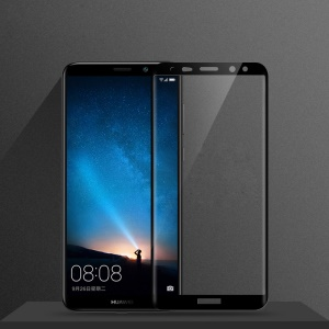 MOFI 3D Curved Complete Covering Tempered Glass Screen Protector for Huawei Mate 10 Lite / nova 2i / Maimang 6 / Honor 9i (India) - Black