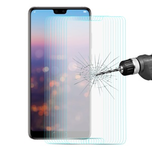 10PCS/Lot ENKAY 0.26mm 9H 2.5D Arc Edge Tempered Glass Screen Protector Film for Huawei P20 Pro