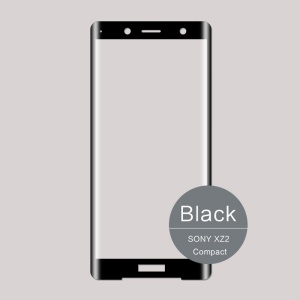 MOFI for Sony Xperia XZ2 Compact 3D Curved Tempered Glass Complete Covering Screen Protector - Black