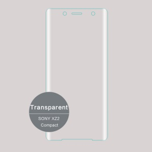 MOFI for Sony Xperia XZ2 Compact 3D Curved Tempered Glass Complete Covering Screen Guard Film - Transparent