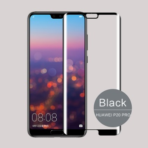 MOFI 3D Curved Complete Covering Tempered Glass Screen Protector for Huawei P20 Pro - Black