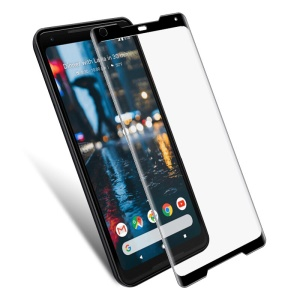 MOFI 3D Curved Full Size Tempered Glass Screen Protector for Google Pixel 2 XL / XL2 - Black