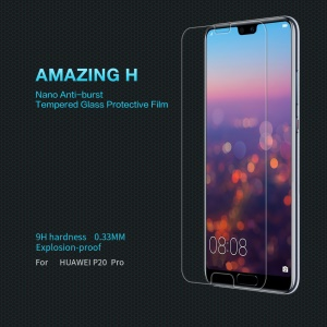 NILLKIN Amazing H Tempered Glass Screen Protector Anti-Explosion for Huawei P20 Pro
