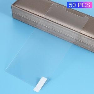 50PCS/Lot for Lenovo Phab2 Plus 6.4 inch 0.3mm Tempered Glass Screen Protector Arc Edge