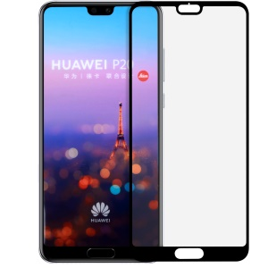 MOMAX 0.3mm Full Size Anti-explosion Tempered Glass Protector Film for Huawei P20 - Black