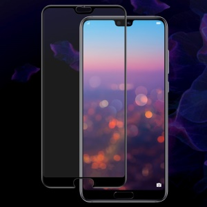 IMAK Pro+ Anti-explosion Full Coverage Tempered Glass Screen Protector for Huawei P20 Pro - Black