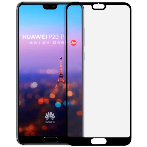 MOMAX 0.3mm Full Size Anti-explosion Tempered Glass Protection Film for Huawei P20 Pro - Black