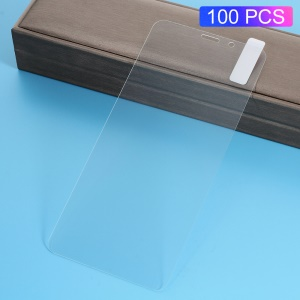 100Pcs/Set 0.3mm Arc Edge Tempered Glass Screen Protector for Xiaomi Redmi Note 5 Pro (Dual Camera) / Redmi Note 5 (China) / Mi 6x