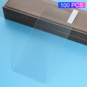 100Pcs/Set 0.3mm Arc Edge Tempered Glass Screen Protector Film for Xiaomi Redmi Note 5A / Y1 Lite (India)
