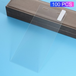 100Pcs/Set 0.3mm Arc Edge Tempered Glass Screen Protector Film for Sony Xperia XA2 Ultra