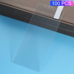 100Pcs/Set 0.3mm Arc Edge Tempered Glass Screen Protector Film for Sony Xperia XZ2 Compact