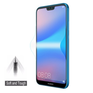 HAT PRINCE 0.1mm Anti-explosion Full Coverage Screen Guard Film for Huawei P20 Lite / Nova 3e