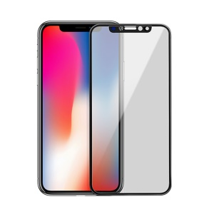 HOCO Shatterproof Edges Anti-spy Full Screen Tempered Glass Protector for iPhone XS / X 5.8 inch