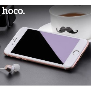 HOCO Anti-blue-ray Tempered Glass Full Screen Coverage Protector Film for iPhone 8 / 7 4.7 inch - White
