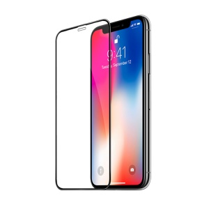 HOCO for iPhone XS / X 5.8 inch Fast Attach 3D Full Screen HD Tempered Glass Protective Film (A8)