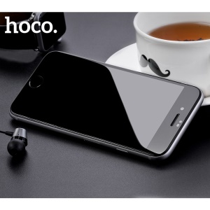 HOCO for iPhone 8 Fast Attach 3D Full Coverage HD Tempered Glass Screen Protector (A8) - Black