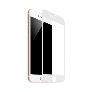 HOCO 0.2mm Full Coverage Curved Tempered Glass Screen Protector for iPhone 8 Plus 5.5 inch - White