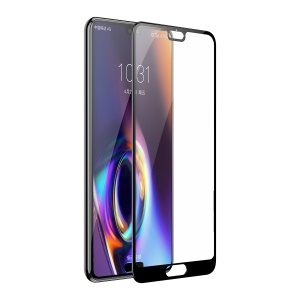 BASEUS 0.3mm Full Coverage Tempered Glass Screen Protector for Huawei P20 Pro - Black