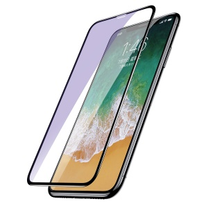 BASEUS 0.2mm 9H Full Size Curved Tempered Glass Screen Protector for iPhone Xs / X(Ten) - Black