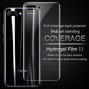 IMAK Soft Clearer Hydrogel Film II for Huawei Honor 10 Full Coverage Back Protector Film