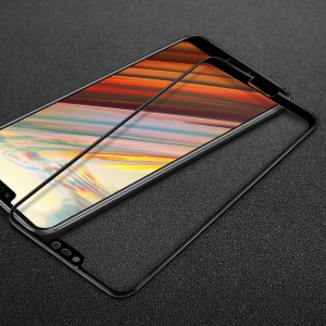IMAK Full Coverage Anti-explosion Tempered Glass Screen Protector for Huawei Honor 10 - Black