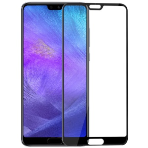 BENKS VPRO 0.3mm Arc Edge Tempered Glass Full Cover Screen Guard Film for Huawei P20 - Black