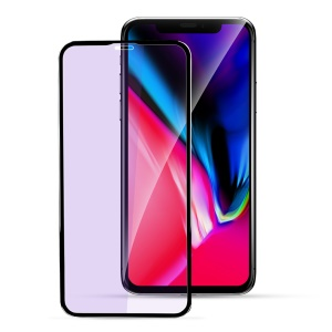 "X-LEVEL Anti-blue-ray 3D 0.26mm Soft PET Edges Tempered Glass Full Screen Protector for iPhone (2019) 5.8"" / Xs / X(Ten) 5.8 inch"