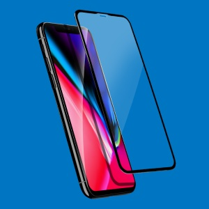 """X-LEVEL Anti-peep 3D 0.26mm Soft PET Edges Full Coverage Tempered Glass Screen Protector Film for iPhone (2019) 5.8"""" / XS / X 5.8 inch"""