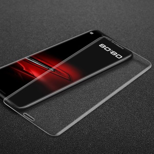 IMAK 3D Curved Full Coverage Tempered Glass Screen Protector Flim for Huawei Mate RS Porsche Design - Transparent
