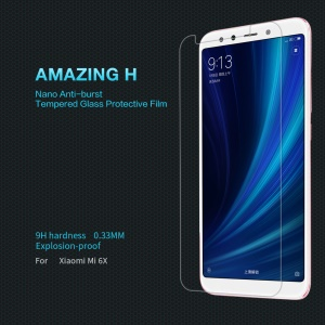 NILLKIN Amazing H Tempered Glass Screen Protector Anti-Explosion for Xiaomi Mi A2 / Mi 6X