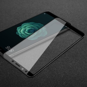 IMAK Pro+ Full Coverage Anti-explosion Tempered Glass Screen Film for Xiaomi Mi 6X / Mi A2 - Black