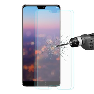 2Pcs/Lot HAT PRINCE for Huawei P20 Pro 0.26mm 9H 2.5D Arc Edge Tempered Glass Screen Protector