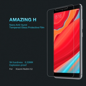 NILLKIN Amazing H Tempered Glass Anti-burst Screen Protector Film for Xiaomi Redmi S2 / Y2