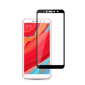 MOCOLO Silk Print Complete Coverage Tempered Glass Screen Protector for Xiaomi Redmi S2 / Y2