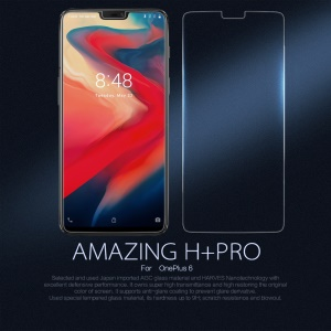 NILLKIN Amazing H+PRO Nanometer Anti-Explosion Tempered Glass Screen Protector for OnePlus 6
