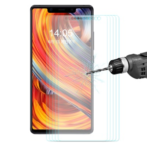 5PCS HAT PRINCE for Xiaomi Mi 8 SE (5.88-inch) 0.26mm 9H 2.5D Tempered Glass Screen Guard Films