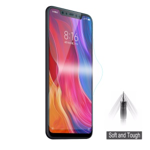 HAT PRINCE 0.1mm Anti-explosion Full Coverage Screen Protector for Xiaomi Mi 8 (6.21-inch)