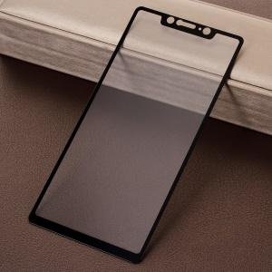 Silk Print Complete Covering Tempered Glass Screen Guard Film for Xiaomi Mi 8 SE (5.88-inch)