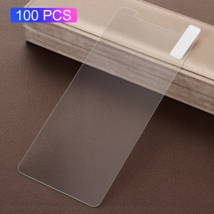 100PCS/Pack 0.3mm Tempered Glass Screen Protector for Samsung Galaxy A6 (2018) Arc Edge